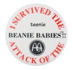 I Survived Teenie Beanie Babies Club Button Museum