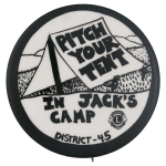 Pitch Your Tent in Jack's Camp Club Button Museum