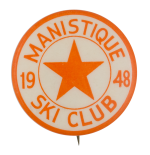 Manistique Ski Club Club Button Museum