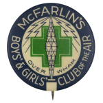 McFarlins Boys and Girls Club Club Button Museum
