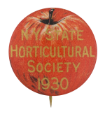 N.Y. State Horticultural Society Club Button Museum
