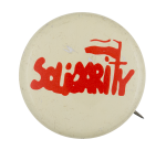 Solidarity Polish Labor Union Two Club Button Museum