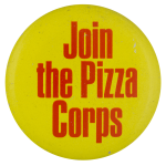 The Pizza Corps Club Button Museum