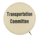 Transportation Committee Club Button Museum