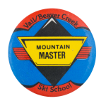 Vail Beaver Creek Ski School Club Button Museum