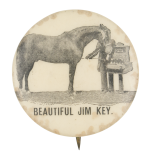 Beautiful Jim Key Entertainment Button Museum