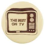 Best On TV Entertainment Button Museum