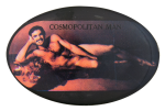 Burt Reynolds Cosmopolitan Man Entertainment Button Museum