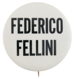 Federico Fellini Entertainment Button Museum