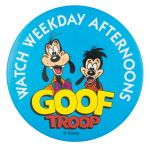 Goof Troop Entertainment Button Museum