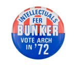 Intellectuals for Bunker Entertainment Button Museum