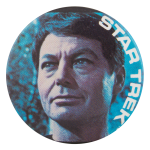 Leonard McCoy Star Trek Entertainment Button Museum