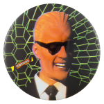 Max Headroom Entertainment Button Museum