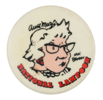 M.K. Brown National Lampoon Entertainment Button Museum