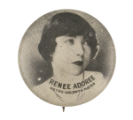 Renee Adoree Entertainment Button Museum