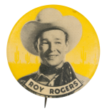 Roy Rogers Entertainment Button Museum