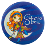 Lisa Frank Star Entertainment Button Museum