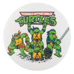 Teenage Mutant Ninja Turtles Entertainment Button Museum