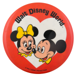 Walt Disney World Minnie and Mickey Entertainment Button Museum