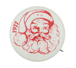 1977 Santa Claus Event Button Museum