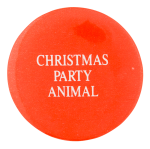 Christmas Party Animal Events Button Museum