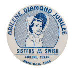 Abilene Diamond Jubilee Event Button Museum