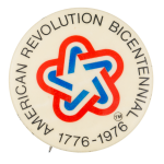 American Revolution Bicentennial Event Button Museum