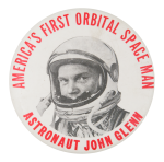 Astronaut John Glenn Events Button Museum