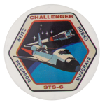 Challenger 6 Events Button Museum