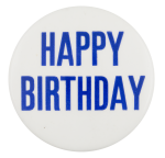 Happy Birthday Event Button Museum
