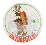Kitchener Waterloo Oktoberfest Event Button Museum