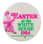 Miss Piggy Easter at the White House Events Button Museum