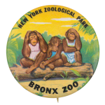 New York Zoological Park Event Button Museum