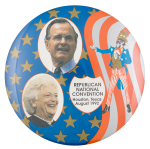 Republican National Convention 1992 Event Button Museum