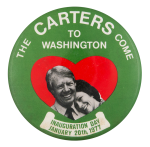 The Carters Come to Washington Event Button Museum