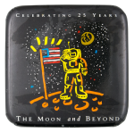 The Moon and Beyond Event Button Museum