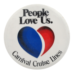 Carnival Cruise Lines I heart Button Museum