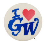 I Love GW I Love Button Museum