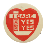 I Care  I heart button museum