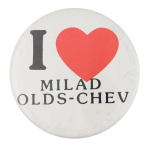 I Heart Milad Olds Chev I ♥ Buttons Button Museum