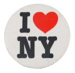 I Love New York 1 I Heart Buttons Button Museum