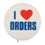I Heart Orders I ♥ Buttons Button Museum