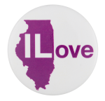 Illinois Love I Heart Button Museum