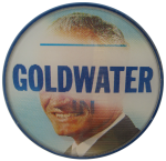Goldwater '64 Flasher Political Button Museum