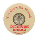 Butter-Krust Bread Innovative Button Museum