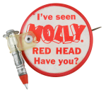 Molly Red Head Innovative Button Museum