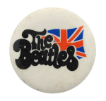 The Beatles Flag Music Button Museum