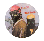 Black Sabbath Never Say Die Music Button Museum
