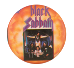 Black Sabbath Rock Legends Music Button Museum