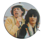 Mick Jagger and Ronnie Wood Music Button Museum
